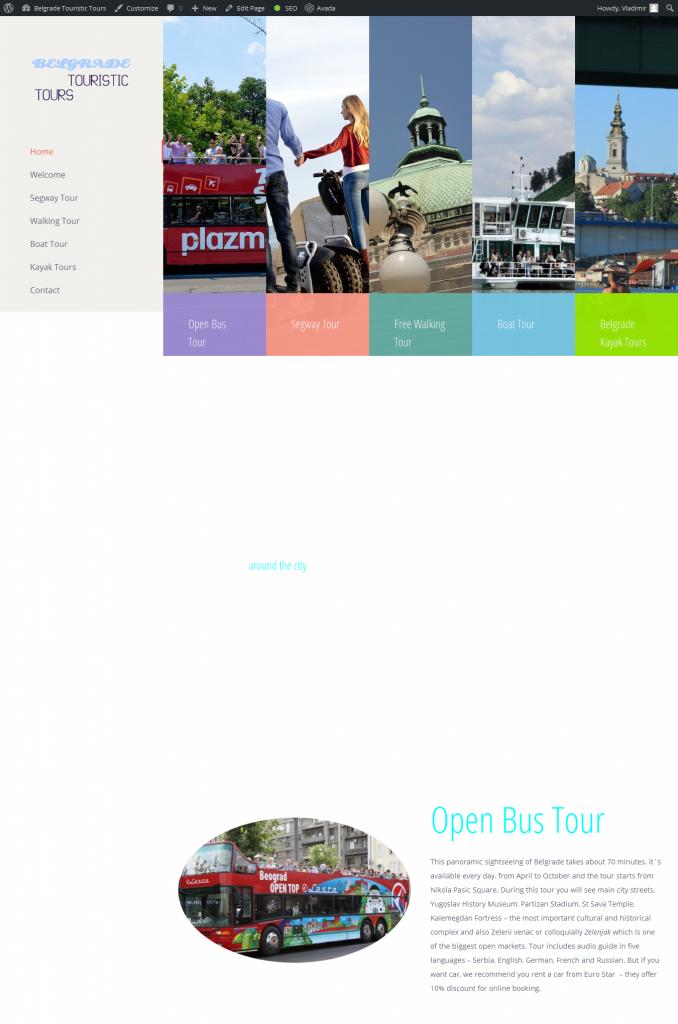 belgrade touristic tour